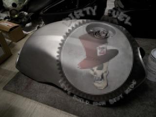 peinture moto bordeaux