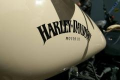 Harley Fat Bob 2014 Ivoire Peinture complète