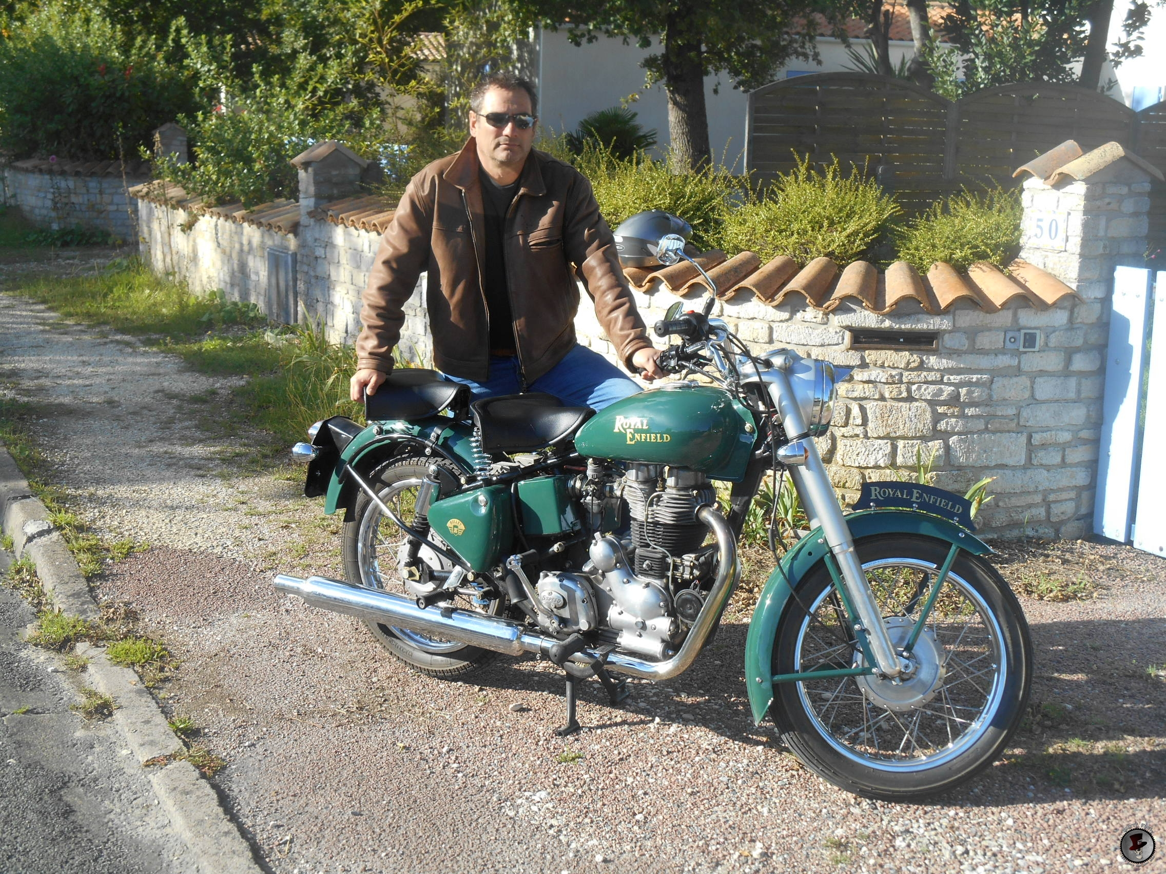 Royal Enfield British green Classic
